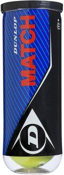 Dunlop Match tennisballen Geel