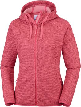Columbia Pacific Point hoodie Dames Rood