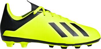 ADIDAS X 18.4 FXG jr voetbalschoenen Geel