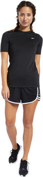 Reebok Workout Ready Supremium T-shirt Dames Zwart