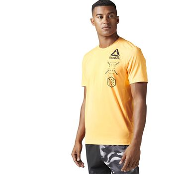 Reebok ActivChill Graphic shirt Heren Rood