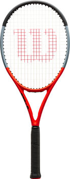 Wilson Clash 100 Reverse tennisracket Rood