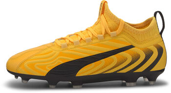 Puma ONE 20.3 FG/AG Jr voetbalschoenen Geel