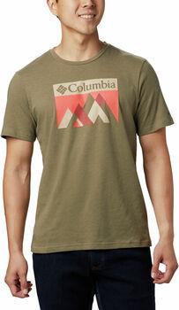 Columbia Alpine Way™ Graphic t-shirt Heren Bruin