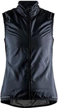 Craft Essence Light wind vest Dames Zwart
