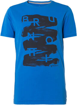 Brunotti Alberts jr shirt Jongens Blauw