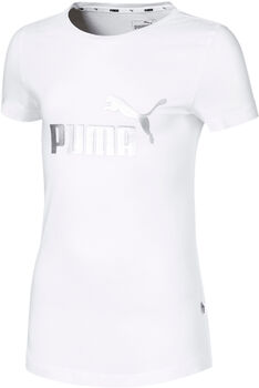 Puma Essentials shirt Meisjes Wit