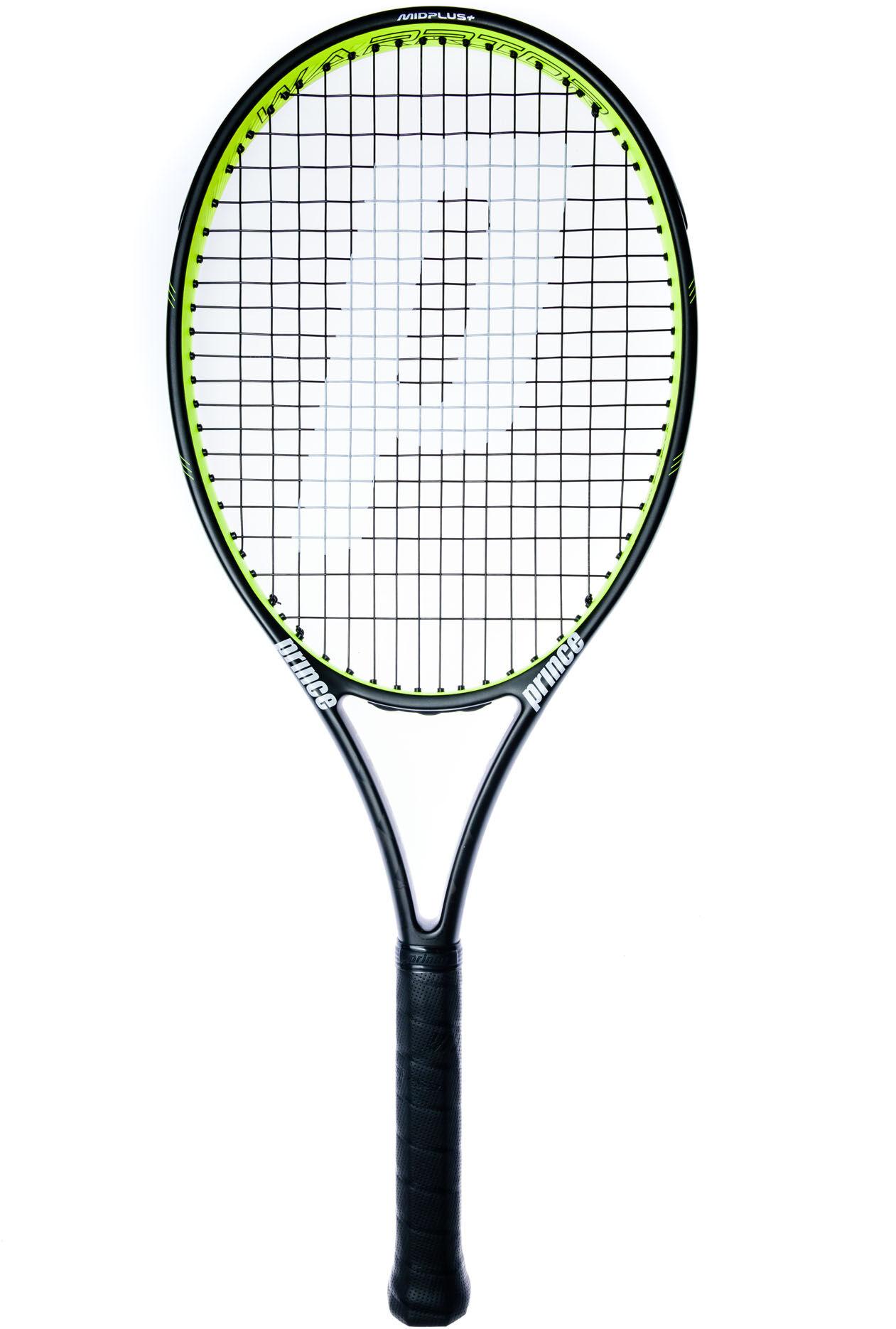 tennis rackets voor dames intersportprince txt warrior 107 t se tennisracket zwart
