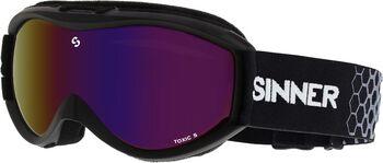 Sinner Toxic S skibril Zwart