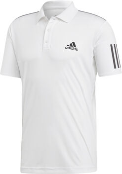 adidas 3-Stripes Club polo Heren Wit
