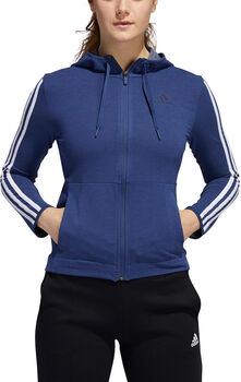 ADIDAS 3-Stripes hoodie Dames Blauw