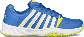 K-Swiss Court Smash Omni tennisschoenen Jongens Blauw