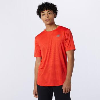 New Balance Q Speed shirt Heren Geel
