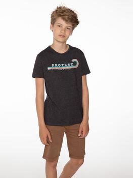 Protest Percy kids shirt Jongens Grijs