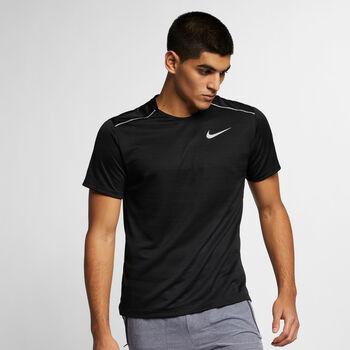 Nike Dri-FIT Miler shirt Heren Zwart