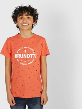 Brunotti Tim Mini kids t-shirt  Jongens Roze