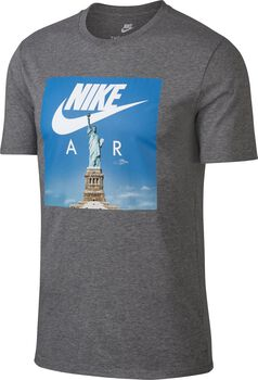 Nike NSW tee Air 1 Heren Zwart