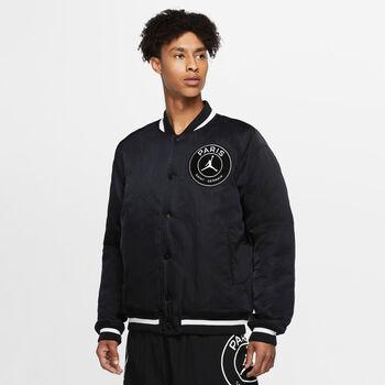Nike Paris Saint-Germain Stadion Varsity jacket Heren Zwart