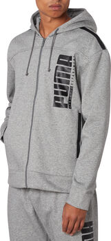 Puma Hooded Sweat jack Heren Grijs