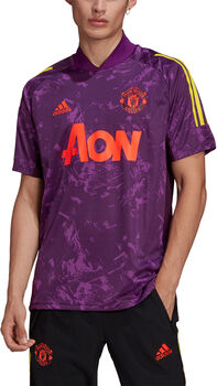 adidas Manchester United Ultimate Trainingsshirt Heren Paars