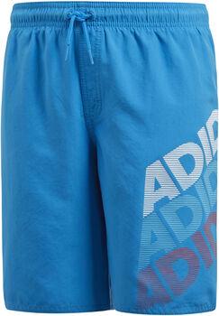 Adidas Linear jr zwemshort Jongens Blauw