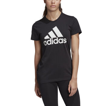ADIDAS Must Haves Badge of Sport T-shirt Dames Zwart