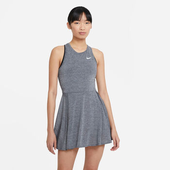 Nike Court Advantage tennisjurkje Dames Zwart