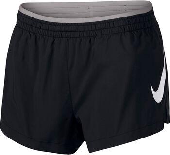 Nike Elevate Track short Dames Zwart