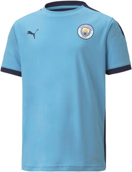 Puma Manchester City Training kids jersey 20/21 Jongens Blauw