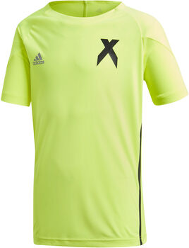 ADIDAS X Jersey shirt Jongens Geel