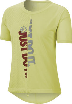 Nike Running shirt Dames Groen
