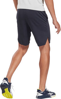 Reebok Workout Ready Mélange Short Heren Blauw