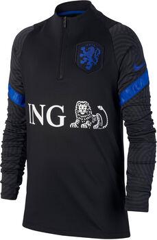 Nike Nederland 2020 Strike longsleeve kids shirt Jongens Zwart
