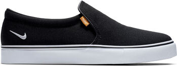 Nike Court Royale AC Slip-On sneaker Dames Zwart