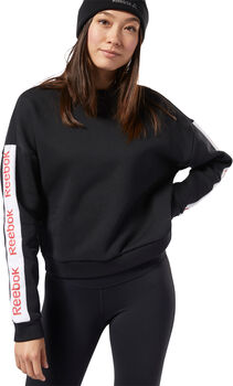 Reebok Training Essentials Logo sweater Dames Zwart