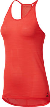 Reebok Workout Ready ActivCHILL top Dames Rood