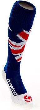 Brabo Flags UK hockeysokken Zwart