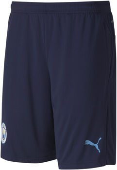 Puma Manchester City FB trainingsshort Heren Blauw