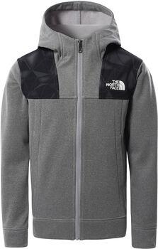 The North Face Surgent Full Zip kids hoodie Grijs