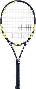 Babolat Evoke 102 Strung tennisracket Zwart