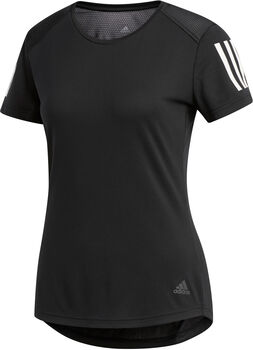 adidas Own The Run shirt Dames Zwart