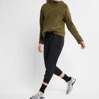 Nike Dry Crop pant Dames Zwart