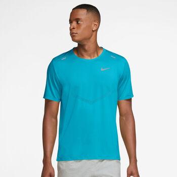 Nike Dri-FIT Rise 365 shirt Heren Blauw