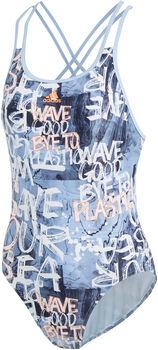 adidas Fit Parley badpak Dames Blauw