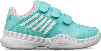 K-Swiss Court Express Strap Omni kids tennisschoenen Blauw