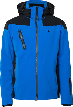 8848 Long Drive ski-jas Heren Blauw