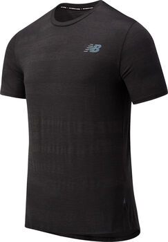 New Balance Speed Fuel shirt Heren Zwart