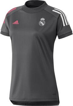 adidas Real Madrid Training Voetbalshirt 20/21 Dames Grijs