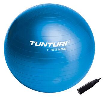 tunturi gymball 65cm, blue Blauw