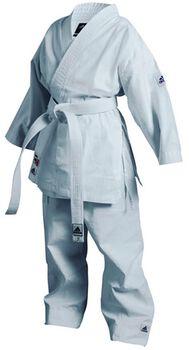 ADIDAS BOXING K200 jr karatepak met band Heren Wit
